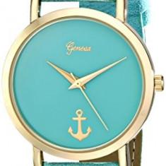 Geneva Women's 2430B-GEN Gold-Tone Watch with   100% original, import SUA, 10 zile lucratoare af22508 - Ceas dama Geneva, Casual, Quartz, Analog