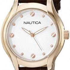Nautica Women's N11634M NCT 18 Mid | 100% original, import SUA, 10 zile lucratoare af22508 - Ceas dama Nautica, Analog
