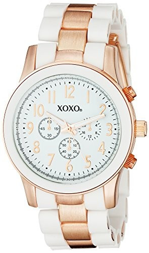 XOXO Women's XO5641 Rose Gold and | 100% original, import SUA, 10 zile lucratoare af22508