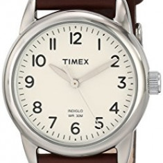 Timex Women's T2N902 Weekender Brown Leather | 100% original, import SUA, 10 zile lucratoare af22508 - Ceas dama Timex, Casual, Quartz, Analog