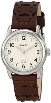 Timex Women's T2N902 Weekender Brown Leather | 100% original, import SUA, 10 zile lucratoare af22508 foto