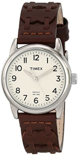 Timex Women's T2N902 Weekender Brown Leather | 100% original, import SUA, 10 zile lucratoare af22508 foto mare