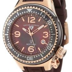 Swiss Legend Women's 11844-BRWRA Neptune Brown   100% original, import SUA, 10 zile lucratoare af22508 - Ceas dama Swiss Legend, Casual, Quartz, Analog