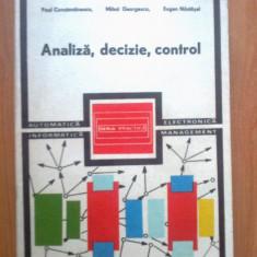 k2 Analiza, decizie, control, Paul Constantinescu , Mihai Georgescu , Eugen N