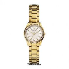 GUESS Women's U0445L2 Feminine Gold-Tone Stainless | 100% original, import SUA, 10 zile lucratoare af22508 - Ceas dama Guess, Analog