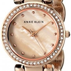 Anne Klein Women's AK 1832CMRG Swarovski | 100% original, import SUA, 10 zile lucratoare af22508 - Ceas dama Anne Klein, Elegant, Quartz, Analog
