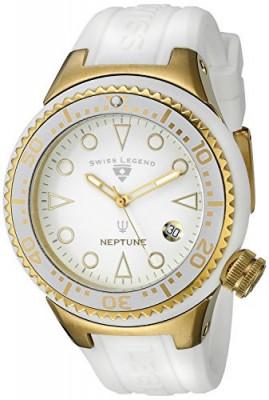 Swiss Legend Women's 11044D-YG-02-WHT Neptune White | 100% original, import SUA, 10 zile lucratoare af22508 foto