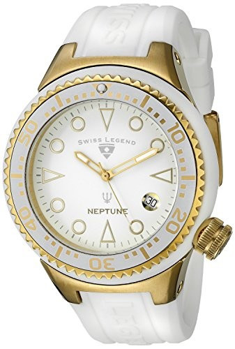 Swiss Legend Women's 11044D-YG-02-WHT Neptune White | 100% original, import SUA, 10 zile lucratoare af22508