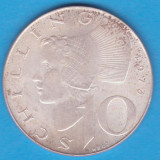 (2) MONEDA DIN ARGINT AUSTRIA - 10 SCHILLING 1973, 7, 5 GRAME, Europa