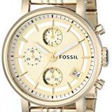 Fossil Women's ES2197 Gold-Tone Stainless Steel | 100% original, import SUA, 10 zile lucratoare af22508 - Ceas dama Fossil, Analog