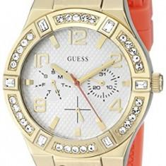 GUESS Women's U0426L2 Comfortable Watch with | 100% original, import SUA, 10 zile lucratoare af22508 - Ceas dama Guess, Casual, Quartz, Silicon, Analog