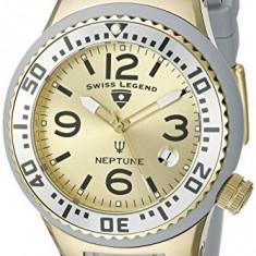 Swiss Legend Women's 11044P-YG-014 Neptune Gold | 100% original, import SUA, 10 zile lucratoare af22508 - Ceas dama Swiss Legend, Casual, Quartz, Analog