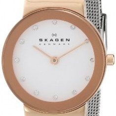 Skagen Women's 358SRSC Freja Quartz 2 | 100% original, import SUA, 10 zile lucratoare af22508 - Ceas dama Skagen, Analog