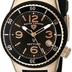 Swiss Legend Women's 11840P-RG-01-MOP Neptune Black   100% original, import SUA, 10 zile lucratoare af22508 - Ceas dama Swiss Legend, Casual, Quartz, Analog