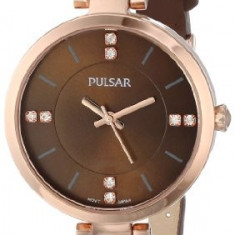 Pulsar Women's PH8068 Analog Display Japanese   100% original, import SUA, 10 zile lucratoare af22508 - Ceas dama Pulsar, Elegant, Quartz