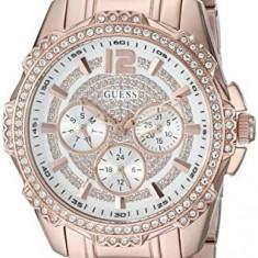 GUESS Women's U0286L2 Rose Gold-Tone Mutli-Function | 100% original, import SUA, 10 zile lucratoare af22508 - Ceas dama Guess, Casual, Quartz, Analog