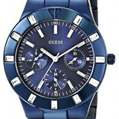 GUESS Women's U0027L3 Iconic Blue-Plated Stainless | 100% original, import SUA, 10 zile lucratoare af22508 - Ceas dama Guess, Sport, Analog