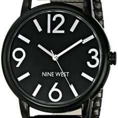 Nine West Women's NW 1571BKBK Black | 100% original, import SUA, 10 zile lucratoare af22508 - Ceas dama Nine West, Casual, Quartz, Analog