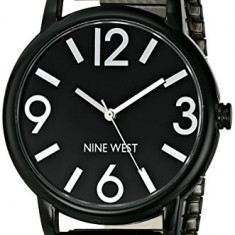 Nine West Women's NW 1571BKBK Black | 100% original, import SUA, 10 zile lucratoare af22508 - Ceas dama Nine West, Analog
