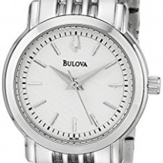 Bulova Women's 96L190 Analog Display Analog | 100% original, import SUA, 10 zile lucratoare af22508 - Ceas dama Bulova, Casual, Otel