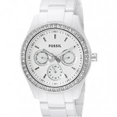 Fossil Stella White Dial Women's Quartz | 100% original, import SUA, 10 zile lucratoare af22508 - Ceas dama Fossil, Analog