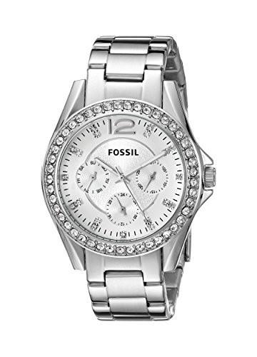 Fossil Women's ES3202 Riley Multifunction Stainless | 100% original, import SUA, 10 zile lucratoare af22508 foto mare
