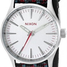 Nixon Men's A3772010 Sentry 38 Leather | 100% original, import SUA, 10 zile lucratoare af22508 - Ceas barbatesc Nixon, Quartz