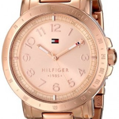 Tommy Hilfiger Women's 1781396 Analog Display | 100% original, import SUA, 10 zile lucratoare af22508 - Ceas dama Tommy Hilfiger, Casual, Quartz, Otel