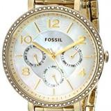 Fossil Women's ES3756 Jacqueline Gold-Tone Stainless | 100% original, import SUA, 10 zile lucratoare af22508 - Ceas dama Fossil, Analog