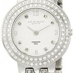 Akribos XXIV Women's AK598SS Impeccable Diamond | 100% original, import SUA, 10 zile lucratoare af22508, Casual, Quartz, Analog