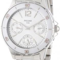 Pulsar Women's PP6021 Classic Dress Sport   100% original, import SUA, 10 zile lucratoare af22508 - Ceas dama Pulsar, Quartz, Otel, Analog