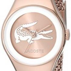 Lacoste Women's 2000875 Valencia Mini Rose   100% original, import SUA, 10 zile lucratoare af22508, Casual, Quartz, Analog
