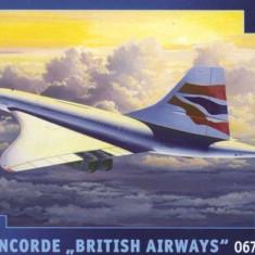 2879.Macheta Minikit Concorde British Airway - Revell - Macheta Aeromodel