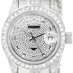 Akribos XXIV Women's AK487SS Diamond Quartz | 100% original, import SUA, 10 zile lucratoare af22508, Casual, Analog