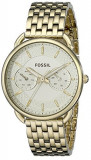 Fossil Women's ES3714 Tailor Gold-Tone Stainless   100% original, import SUA, 10 zile lucratoare af22508, Casual, Quartz, Analog