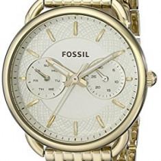 Fossil Women's ES3714 Tailor Gold-Tone Stainless | 100% original, import SUA, 10 zile lucratoare af22508 - Ceas dama Fossil, Analog