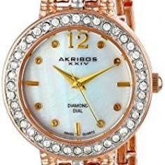 Akribos XXIV Women's AK757TRI Lady Multi-Tone | 100% original, import SUA, 10 zile lucratoare af22508 - Ceas dama Akribos, Analog