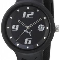 PUMA Women's PU910672001 Slick 3-Hand-Date Black | 100% original, import SUA, 10 zile lucratoare af22508 - Ceas dama Puma, Sport, Quartz, Analog