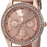 XOXO Women's XO5599 Rose Gold-Tone Watch | 100% original, import SUA, 10 zile lucratoare af22508