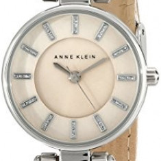 Anne Klein Women's AK 1951TMTN Silver-Tone   100% original, import SUA, 10 zile lucratoare af22508 - Ceas dama