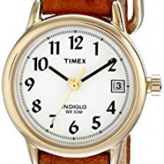 Timex Women's T2J761 Easy Reader Brown | 100% original, import SUA, 10 zile lucratoare af22508 - Ceas dama Timex, Casual, Quartz, Analog