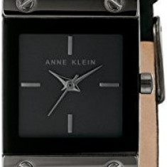 Anne Klein Women's AK 1841GYBK Rectangular | 100% original, import SUA, 10 zile lucratoare af22508 - Ceas dama Anne Klein, Analog