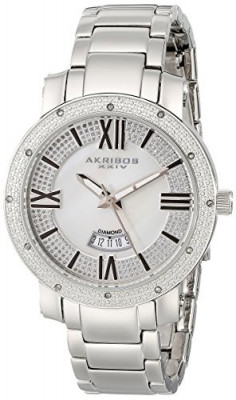 Akribos XXIV Women's AK507SS Diamond Accented   100% original, import SUA, 10 zile lucratoare af22508 foto