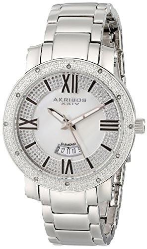 Akribos XXIV Women's AK507SS Diamond Accented   100% original, import SUA, 10 zile lucratoare af22508 foto mare
