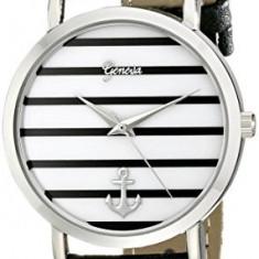 Geneva Women's 2431C-GEN Silver-Tone Watch with   100% original, import SUA, 10 zile lucratoare af22508 - Ceas dama Geneva, Casual, Quartz, Analog
