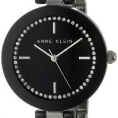 Anne Klein Women's AK 1315BKBK Black | 100% original, import SUA, 10 zile lucratoare af22508 - Ceas dama Anne Klein, Elegant, Analog