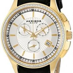 Akribos XXIV Women's AK615YG Grandiose Crystal | 100% original, import SUA, 10 zile lucratoare af22508 - Ceas dama Akribos, Casual, Quartz, Analog