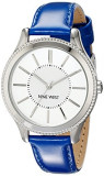 Nine West Women's NW 1703SVBL Silver-Tone | 100% original, import SUA, 10 zile lucratoare af22508, Casual, Quartz, Analog, Nine West