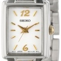 Seiko Women's SXGL59 Dress Two-Tone Watch | 100% original, import SUA, 10 zile lucratoare af22508 - Ceas dama Seiko, Elegant, Quartz, Analog