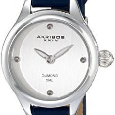 Akribos XXIV Women's AK750BU Analog Display | 100% original, import SUA, 10 zile lucratoare af22508, Casual, Quartz